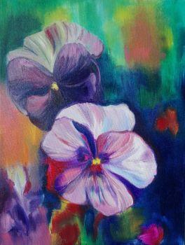 Flower VI by Magdalena Chmielek