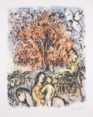 La Sainte Famille by Marc Chagall