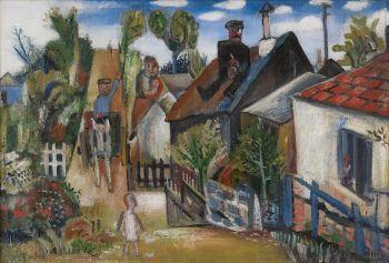 Village by Geer van Velde