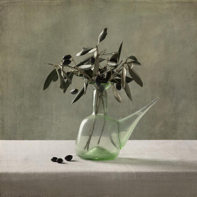 Vaas met olijven  by Tineke Stoffels