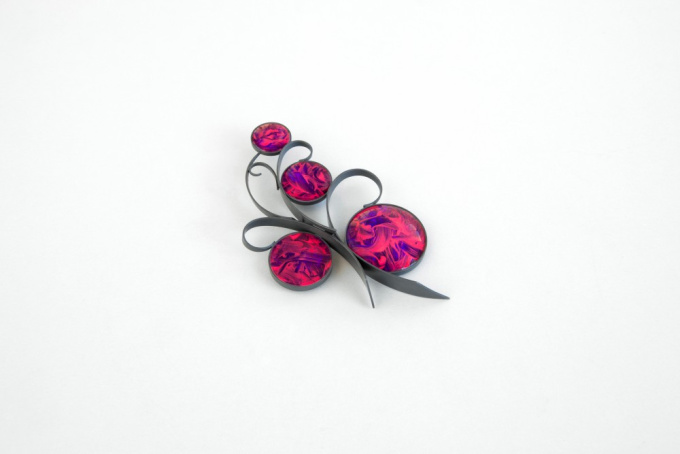 Brooch 'Arboresque 34' by Jiro Kamata