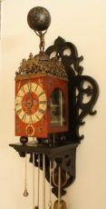 Early Dutch bracket clock