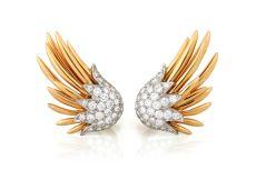Earrings Wings Tiffany / Schlumberger