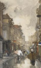 Walking through the Spuistraat, The Hague by Floris Arntzenius
