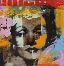 Marlene Dietrich by Claus Costa