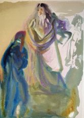 Divina commedia paradiso 28 by Salvador Dali