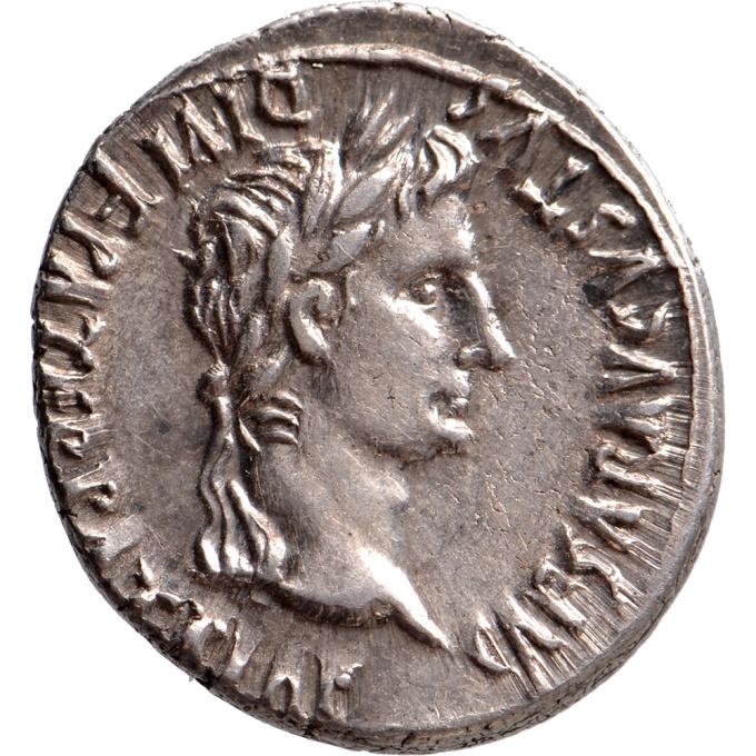 AR Denarius Augustus (27 BC-14 AD) by Unknown Artist