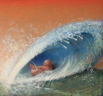 'Geboorte van Venus - Waterschelp' by Peter van Poppel