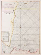 INDONESIA NAUTICAL CHART strait of sunda by Laurie and Whittle