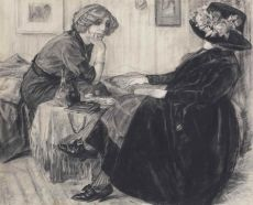Chatting Ladies by Leo Gestel