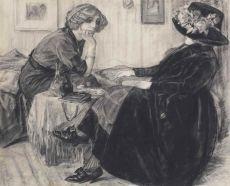 Chatting Ladies by Leo Gestel