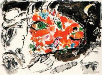 Après l'Hiver by Marc Chagall