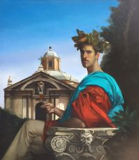 Autoritrato I by Giovanni Tommasi Ferroni