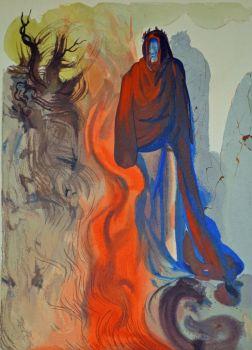 Divina commedia inferno 34 by Salvador Dali