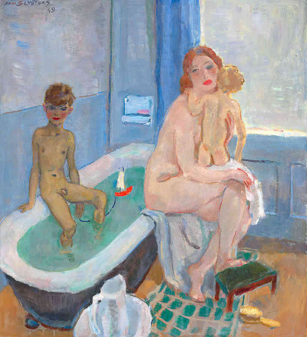 The Bathroom by Jan Sluijters