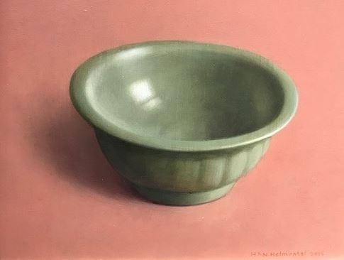 Celadon bowl by Henk P.N. Helmantel