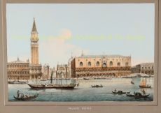 19TH CENTURY VIEW OF VENICE, SEEN FROM THE GRAND CANAL  by Unknown Artist