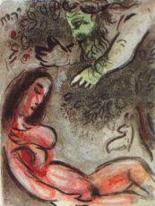 Eve maudite par Dieu by Marc Chagall