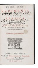 Erpenius's excellent Arabic grammar