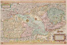Hungary antique map  by  Visscher