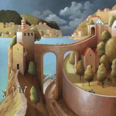 An unusual meeting by Michiel Schrijver