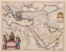 Ottoman Empire  by  Willem and Joan Blaeu