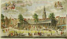 Amsterdam, Korenbeurs  naar Adolph van der Laan by  Leon Schenk