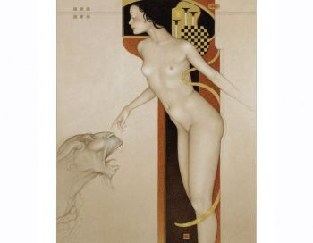 The touch by Michael Parkes