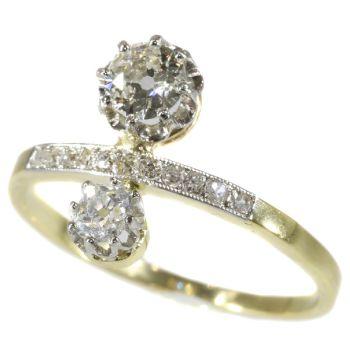 Belle Epoque diamond engagement ring by Unknown Artist