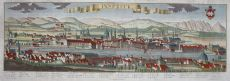BEAUTIFUL LARGE FORMAT VIEW OF INNSBRUCK   by Friedrich Bernhard Werner