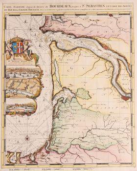Bordeaux  by  Romeijn de Hooghe/ Pieter Mortier