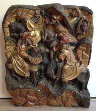 Horsemen relief