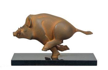 Everzwijn klein by Evert den Hartog