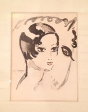 Program for Le Cirque d'Hiver, Gala de l'Union des Artistes by Kees van Dongen