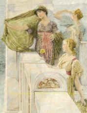 The Ever new Horizon by Lawrence Alma-Tadema