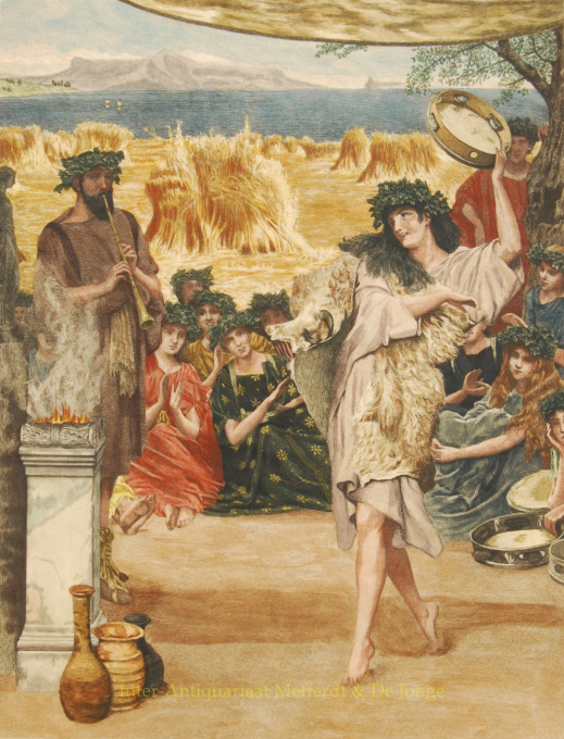 The Harvest Festival by Lawrence Alma-Tadema