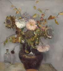 Fall stillife by Ernst Leyden