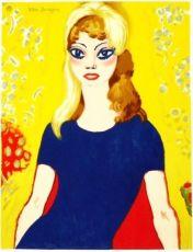 Brigitte Bardot - Les peintres témoins de leur temps by Kees van Dongen