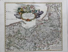 FINE MAP OF POLAND AND KALININGRAD    by Homann, Jean Baptiste