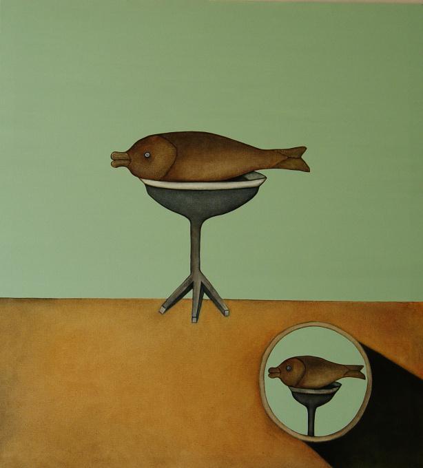 'A Fish' by Liu Yan