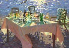 Vieren aan Zee by Juane Xue