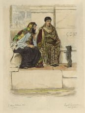 IN THE TIME OF CONSTANTINE  by Lawrence Alma-Tadema