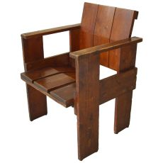 Albatros Crate Chair by Gerrit Thomas Rietveld