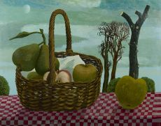 A fruit basket by Herman Berserik