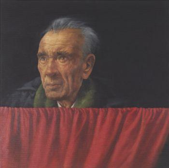 Figure at window 4 by Graeme Wilcox