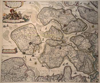Zeeland  by  Nicolaes Visscher