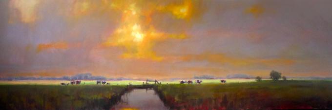 Polderlicht (Polderlicht) by Cees Vegh