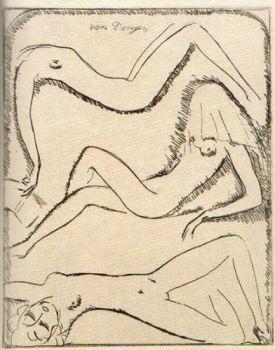 Three Nudes by Kees van Dongen