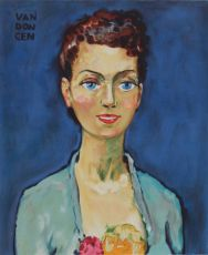 'Hommage a Marie-Claire' by Kees van Dongen