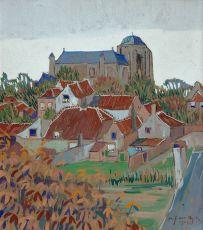 De Dom van Veere by Alfons Josephus van Dijck